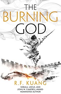 The Burning God cover